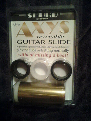 Shubb Axys Reversible Guitar Slide new NIB