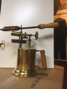Antique Blow Torch and Iron