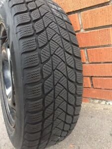 """15"""" Winter Tires (Rims Included)"""