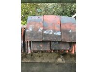 Reclaimed clay blanchard roof tiles for sale