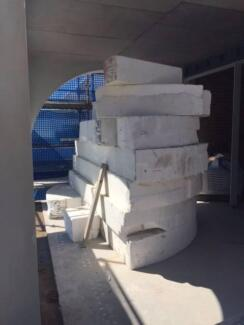 Polystyrene foam form work/void formers Chiswick Canada Bay Area Preview