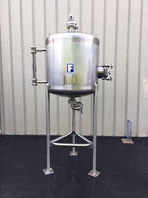 Feldmeier 150 Gallon Stainless Steel Receiver Tank Foodgrade