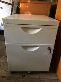 2 Drawer Metal Office Unit