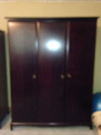 Wardrobes - 2 large 1 small excellent condition