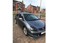 Honda Type R in immaculate condition , low mileage, motd . very collectable pocket rocket.