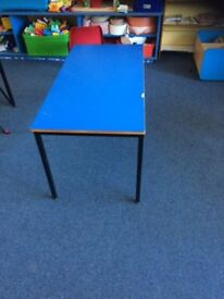 pre-school size tables and chairs
