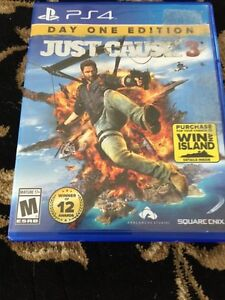 PS4 Just Cause 3 Sony Playstation 4 Video Game, Excellent Cond