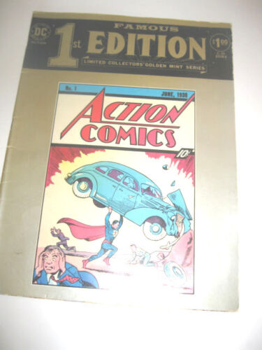 Action Comics June 1938 Reprint