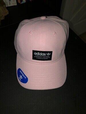 Adidas Originals Men's Pique Precurve OSFM Pink/Black Cap Adjustable Hat