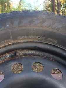 "17"" Steel Snow Tire Rims Cambridge Kitchener Area image 2"