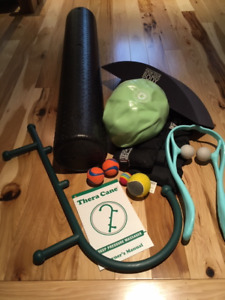 Rehab bundle for back pain incl. new Thera-Cane & Merrithew ball