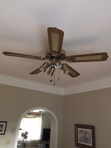 Ceiling Fan three speed and reverse .
