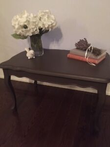 Small Vintage Painted Coffee Table