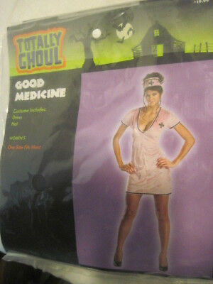 GOOD MEDICINE NURSE ADULT WOMENS HALLOWEEN COSTUME SEXY RISQUE LG - Risque Halloween Costumes