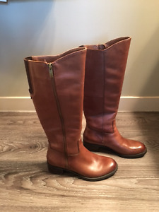 Franco Sarto Leather Boots size 5