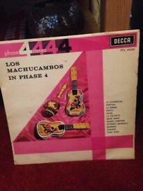 LOS MUCHCAMBOS 1962 VINYL RECORD