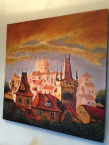 Canvas Painting - Price Negotiable