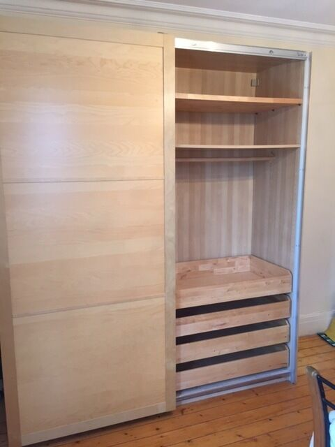 used bedroom wardrobes shelving storage for sale for sale in bangor