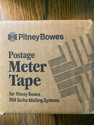 Pitney Bowes Postage Meter Tape For Dm Series Mailing Systems Nos
