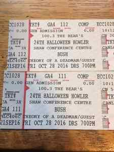 Halloween Howler - Bush and Theory of a Deadman
