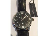 Hilfiger black dress watch