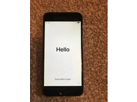 i-phone 6, black/silver 16gb, unlocked. With extras.