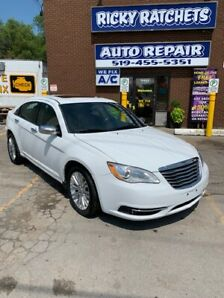 2014 CHRYSLER 200 LIMITED $12995.00 CERTIFIED