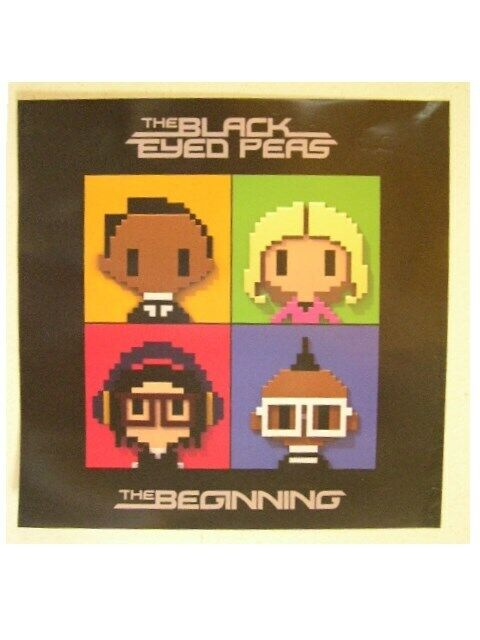 The Black Eyed Peas Poster The Beginning Pixel