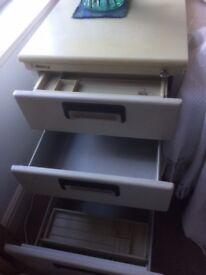 Mobile Under Desk Pedestal Storage Unit