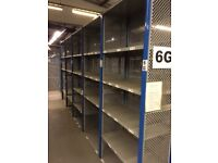 15 bays DEXION impex industrial shelving 2.4M high( storage , pallet racking )