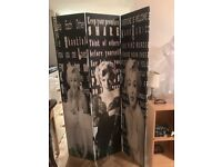 Marylyn Monroe screen divider
