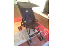 Babyway Pram/Puschair/Stroller collapsable With Sunshade Black