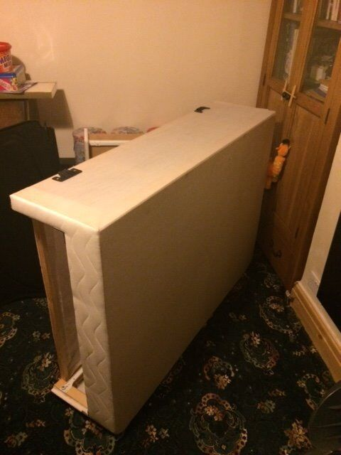 Double divan base with 2 drawers in penwortham for Double divan with drawers