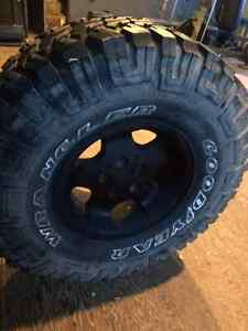 Reduced - Again - Oversized Spare and Rim combo for your Jeep