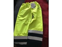 Waterproof Over Trouser Siostart Yellow Multi-Norm Size L