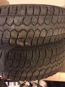 265/75R16 Winter Tires and Rims
