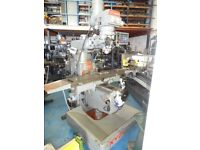 XYZ KRV 3000 SLV TURRET MILLING MACHINE 3 AXIS DRO YEAR 2002