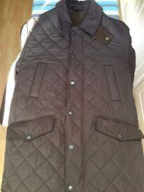 Barbour Bardon brown jacket - Medium