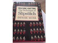 X3 Machine Knitting Books