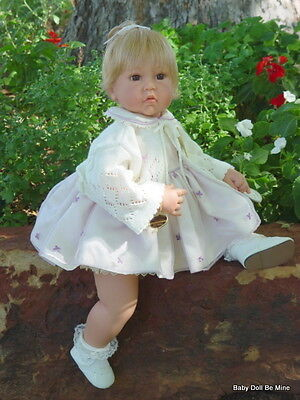 Retired * Lee Middleton *  Baby's First Prayer Doll * 2003 Collector Club