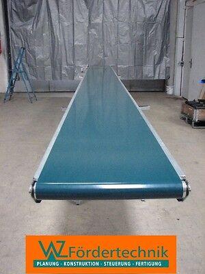 Förderband, Transportband mit 2lg. PVC-Gurt 14700 mm x 500 mm
