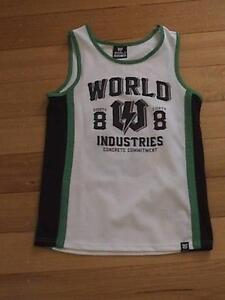 Boy's World Industries Singlet Size 16 Doncaster East Manningham Area Preview