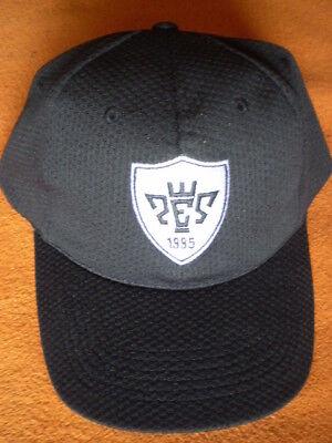 Basecap / Truckercap in Schwarz - Pro Evolution Soccer 1995 - Stickung / NEU