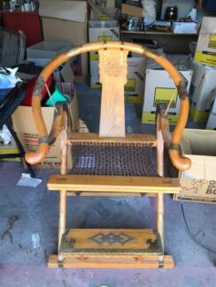 Antique Chinese Horseshoe- back Emperor Chairs