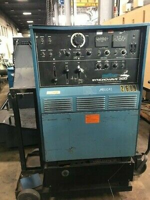 Miller 300 Amp Syncrowave 300 Acdc Tigstick Welder Power Source Wcoolmate Car