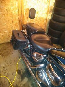 Mustang Seats, Saddle Bags, Mustang Tank Bib, Wind Shield