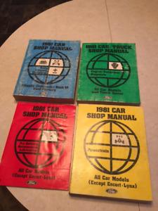 1981 Ford Shop Manuals