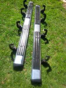 2011 Sierra Running Boards - good condition