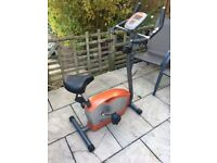 body sculpture bc6730d exercise bike - used