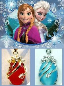 Frozen movie Snow Queen Elsa & Princess Anna Necklaces